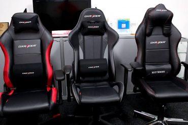 3 fauteuils gamer DX Racer King