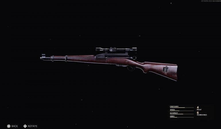 Black Ops Cold War : Meilleur chargement du K31 suisse - Accessoires, équipement et avantages 6