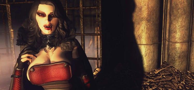 10 meilleurs mods vampires de Skyrim pour s'amuser à sucer du sang 8