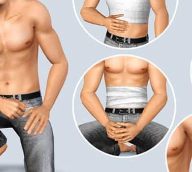 Sims 4 Injury CC : Cicatrices, ecchymoses, bandages et plus encore 11