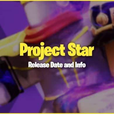 Roblox Project Star Date de sortie 10