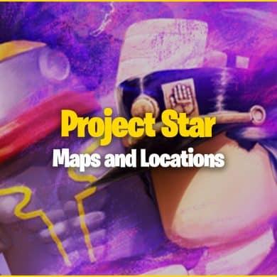 Vue d'ensemble et localisation de Project Star Map 13